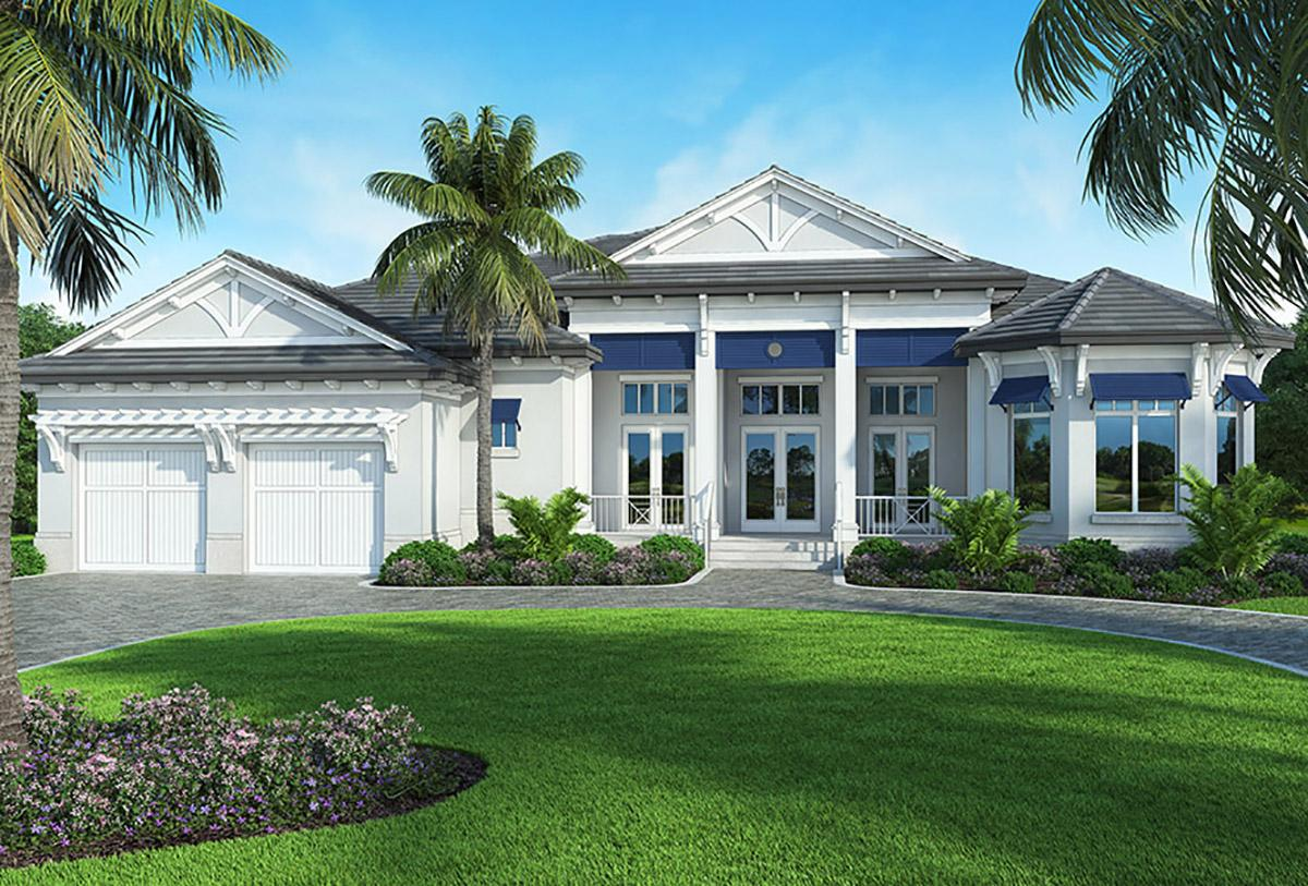 4 Bed, 5 Bath, 3935 Square Foot House Plan - #207-00063