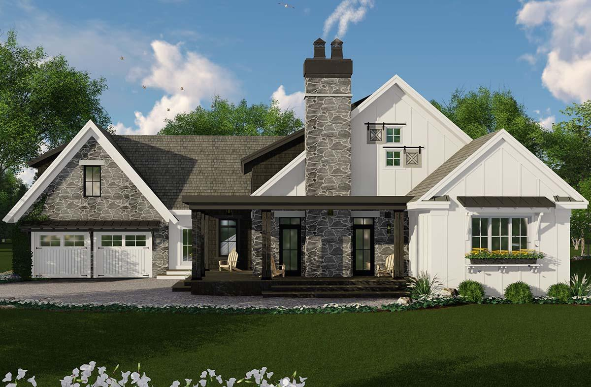 Modern Farmhouse Plan: 2,241 Square Feet, 3 Bedrooms, 2.5 ...