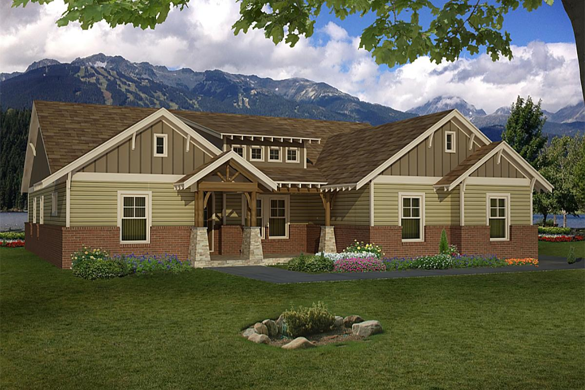 4 Bed, 3 Bath, 2512 Square Foot House Plan - #940-00100