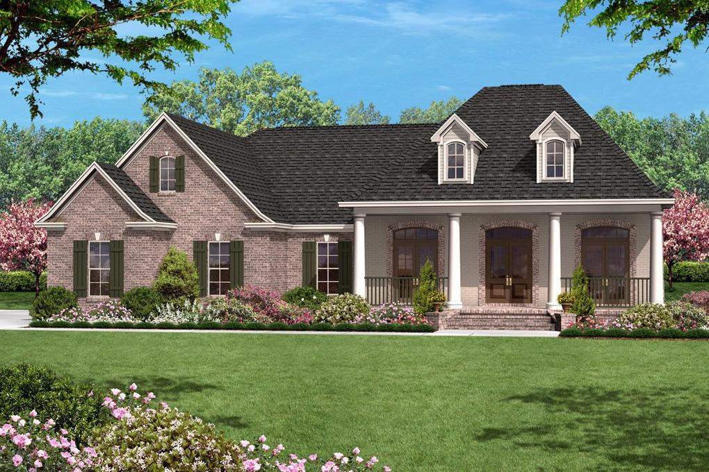 French Country Plan: 1,500 Square Feet, 3 Bedrooms, 2 ...