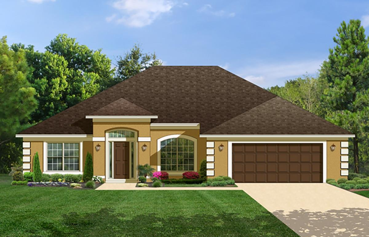 4 Bed, 3 Bath, 2508 Square Foot House Plan - #3978-00073