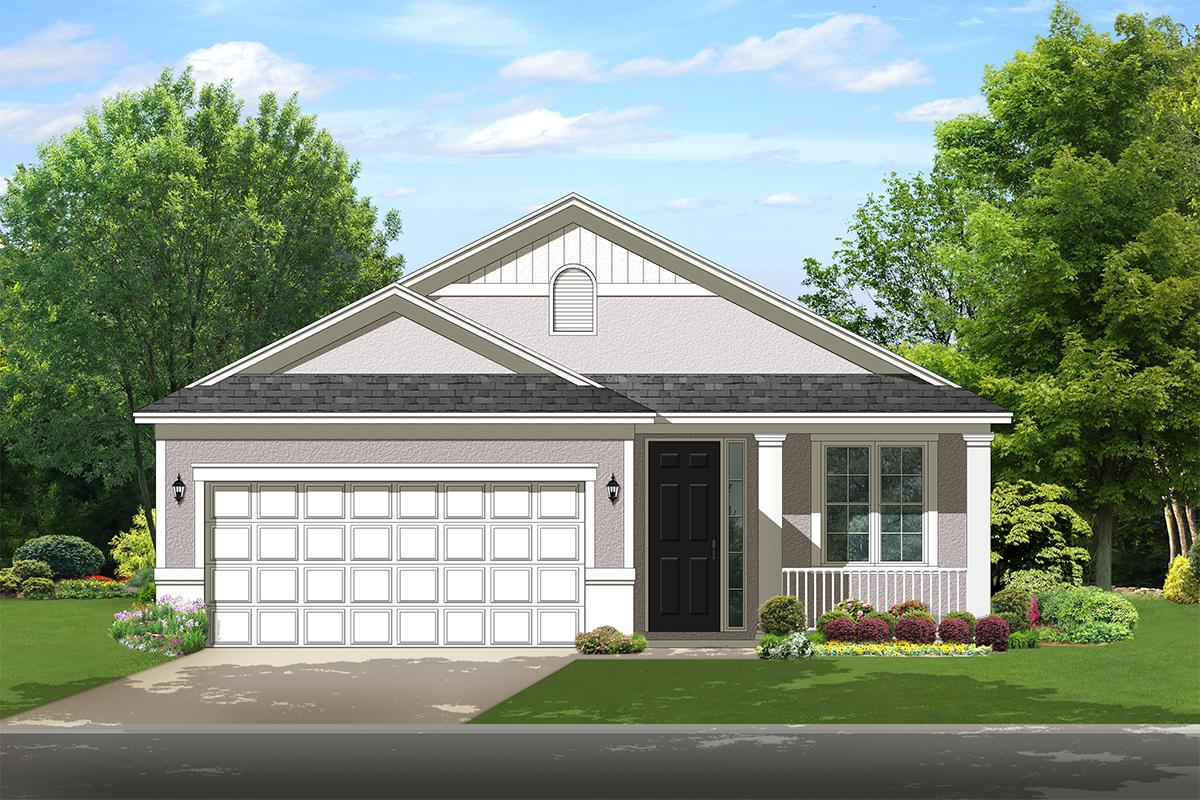 2 Bed, 2 Bath, 1256 Square Foot House Plan - #3978-00114