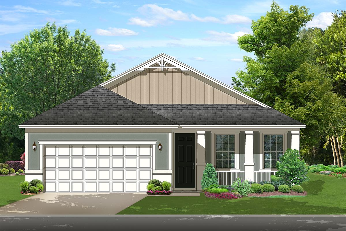 2 Bed, 2 Bath, 1503 Square Foot House Plan - #3978-00120