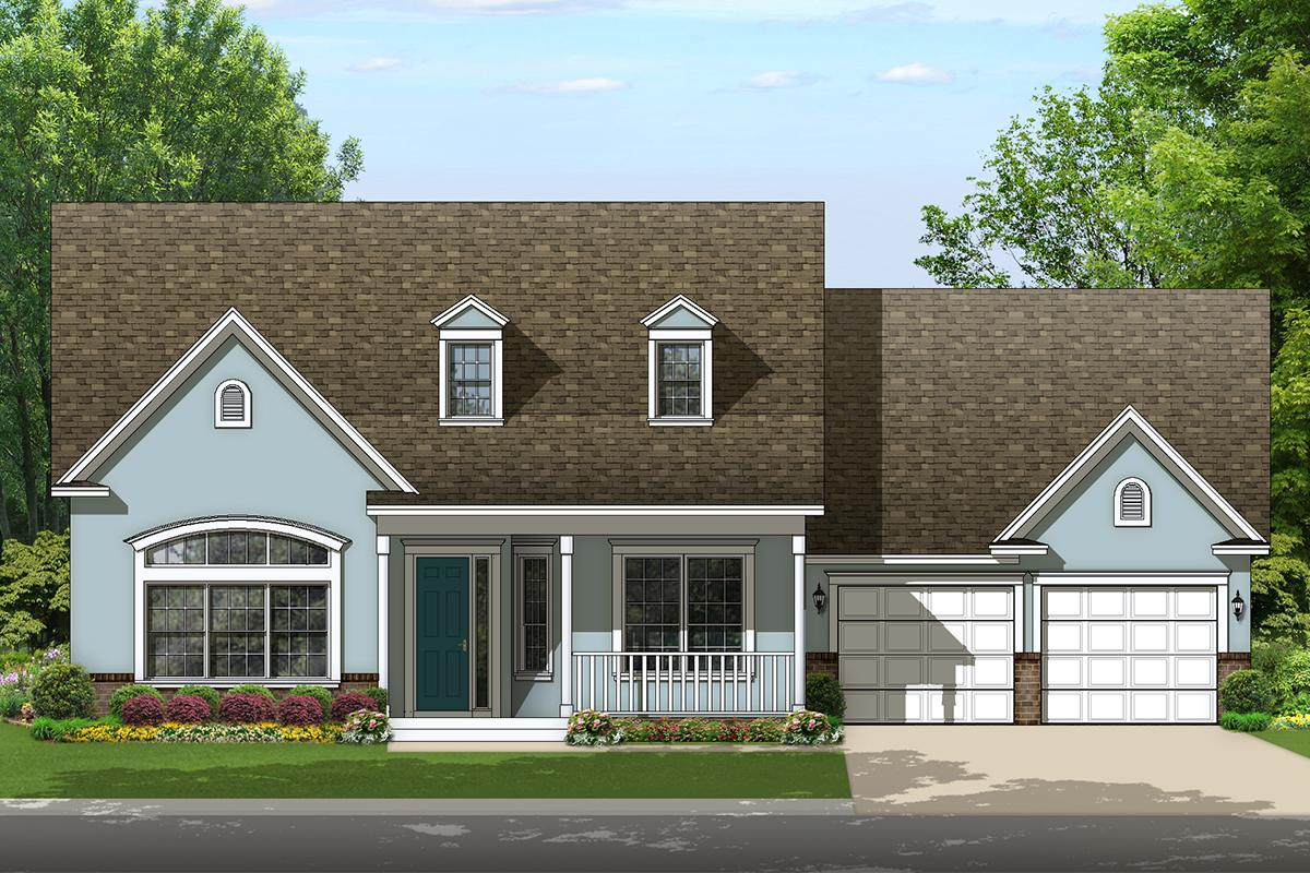 4 Bed, 3 Bath, 2453 Square Foot House Plan - #3978-00151