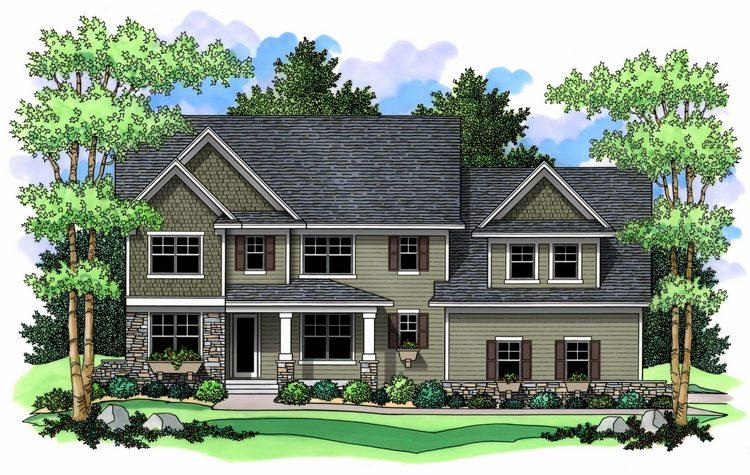 4 Bed, 2 Bath, 2947 Square Foot House Plan - #098-00020
