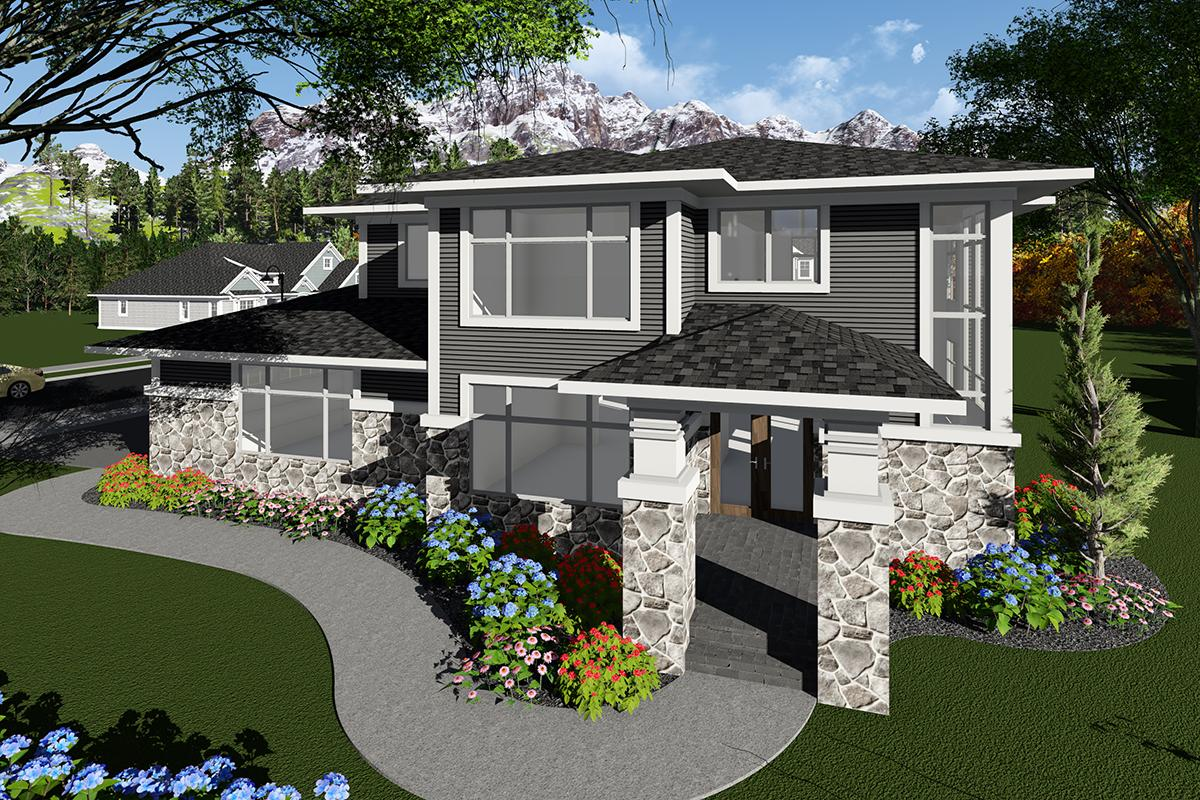 3 Bed, 2 Bath, 2943 Square Foot House Plan - #1020-00073