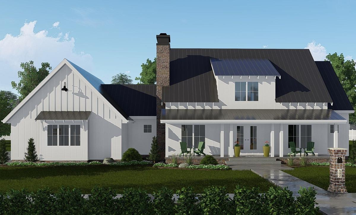 4 Bed, 4 Bath, 2675 Square Foot House Plan - #963-00323