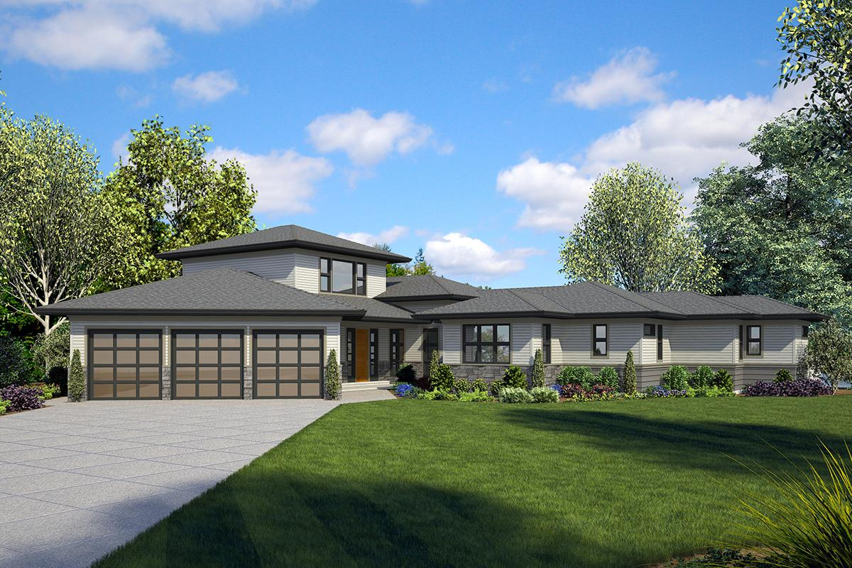 3 Bed, 3 Bath, 3198 Square Foot House Plan - #2559-00814