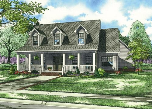 Cape cod plan 2 025 square feet 3 bedrooms 2 5 for One story cape cod house plans