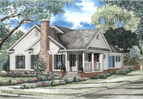 3 Bed, 2 Bath, 2140 Square Foot House Plan - #110-00080