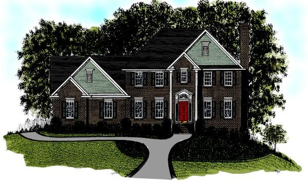 4 Bed, 2 Bath, 2121 Square Foot House Plan - #036-00082