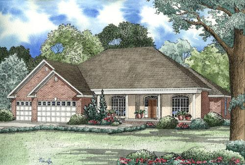 4 Bed, 2 Bath, 2478 Square Foot House Plan - #110-00144
