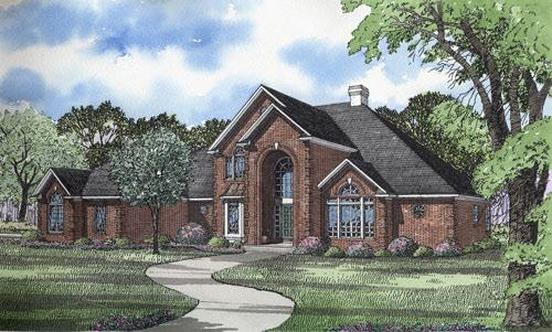 4 Bed, 4 Bath, 4873 Square Foot House Plan - #110-00152