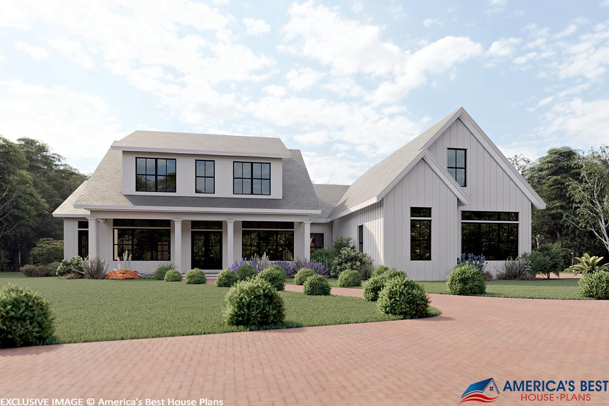 4 Bed, 4 Bath, 2696 Square Foot House Plan - #6849-00054