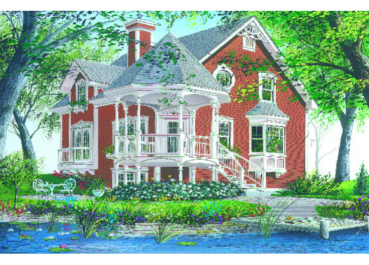 Lake front plan 1 356 square feet 3 bedrooms 2 for Lake front house plans