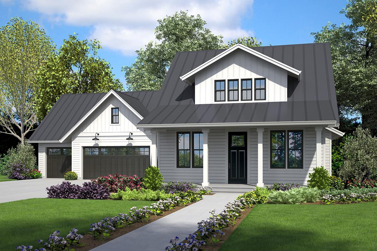 3 Bed, 3 Bath, 2292 Square Foot House Plan - #2559-00834