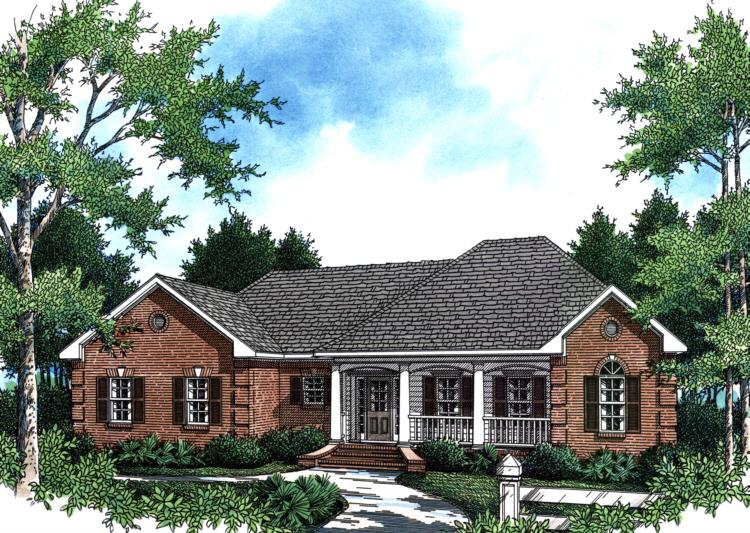 Country Plan 1751 Square Feet 3 Bedrooms 2 Bathrooms