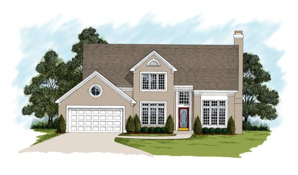 4 Bed, 2 Bath, 2292 Square Foot House Plan - #036-00096