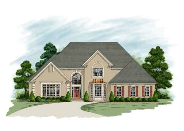 4 Bed, 3 Bath, 3482 Square Foot House Plan - #036-00153
