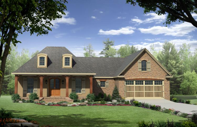 3 Bed, 2 Bath, 1863 Square Foot House Plan - #348-00075