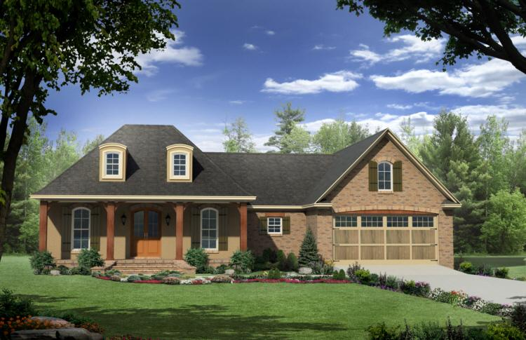 3 Bed, 2 Bath, 1879 Square Foot House Plan - #348-00078