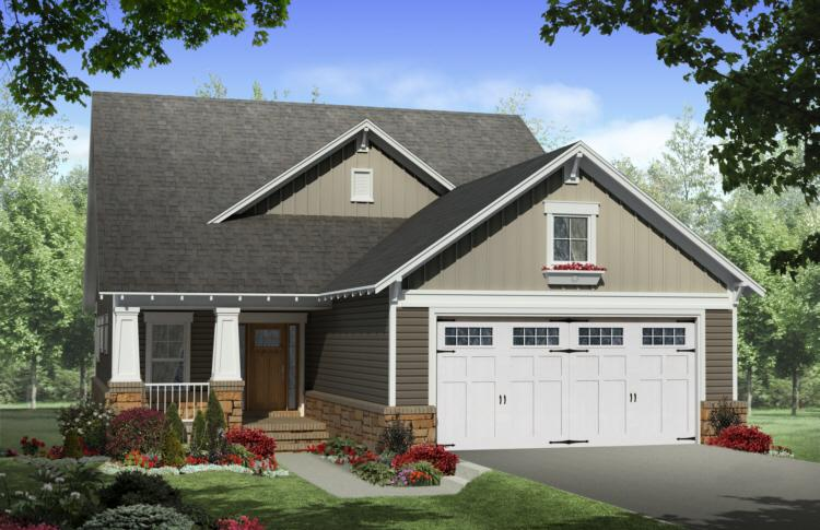 Delightful Front Garage House Plans #7: Americas Best House Plans