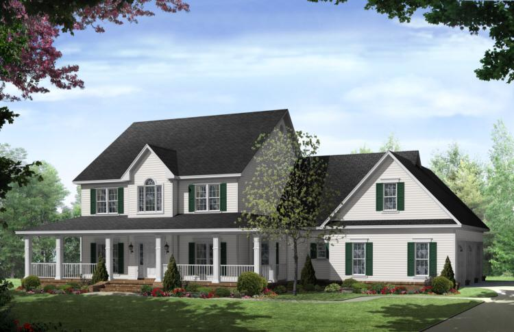 3 reasons a two story house is for you america 39 s best Two story farmhouse plans
