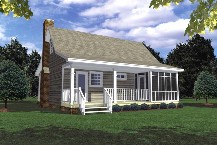 photo - Small Country Style House Plans