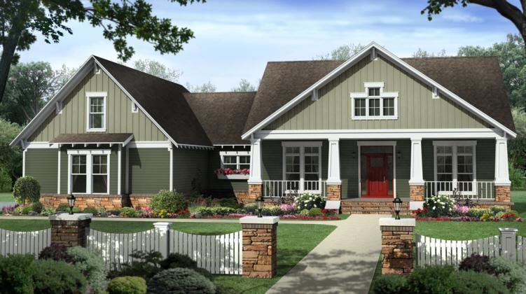 Ordinary Best Craftsman House Plans #7: Americas Best House Plans ...