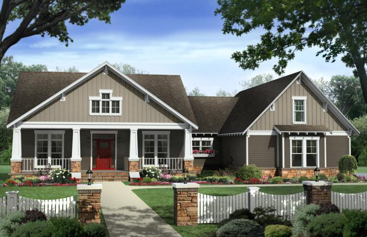4 Bed, 2 Bath, 2400 Square Foot House Plan - #348-00190