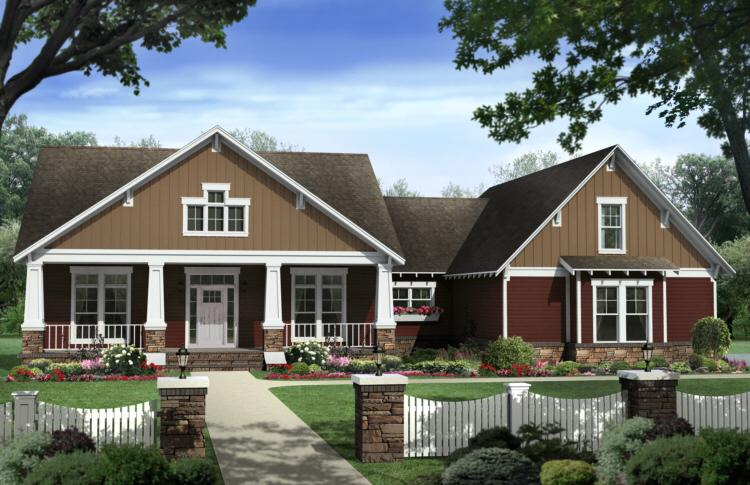 4 Bed, 2 Bath, 2447 Square Foot House Plan - #348-00191