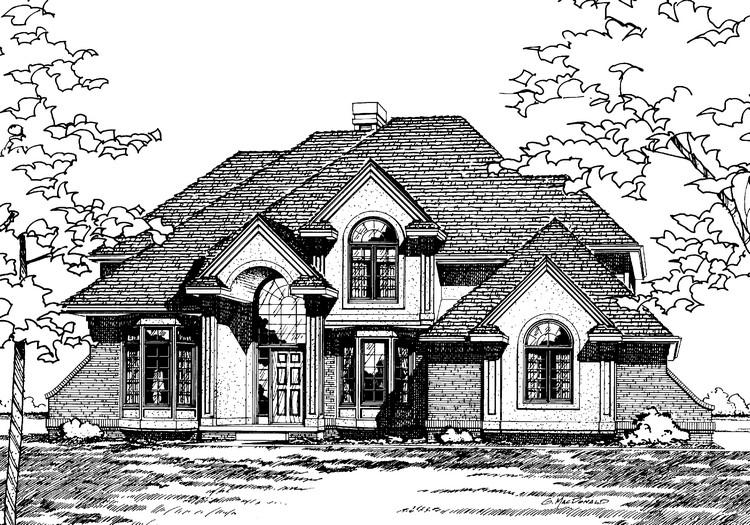 4 Bed, 2 Bath, 2727 Square Foot House Plan - #402-00079