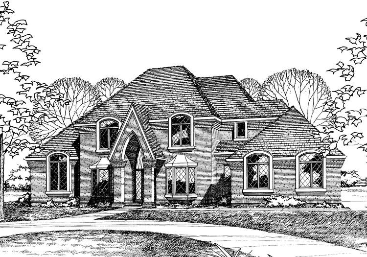 4 Bed, 2 Bath, 2845 Square Foot House Plan - #402-00110