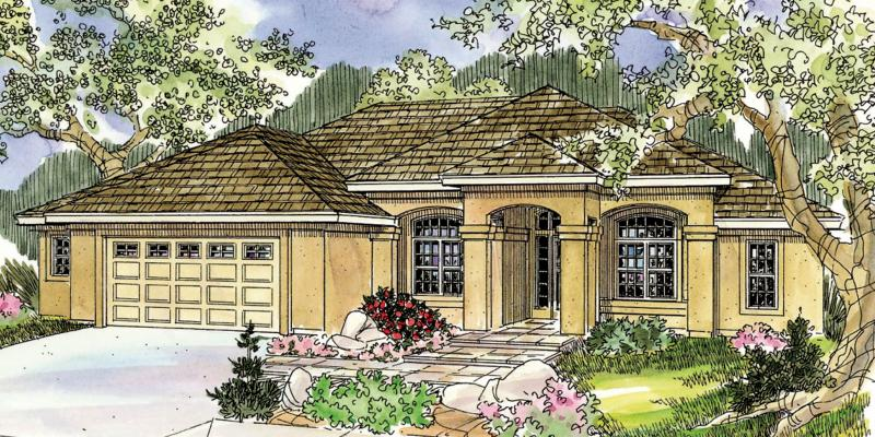 3 Bed, 2 Bath, 2495 Square Foot House Plan - #035-00418