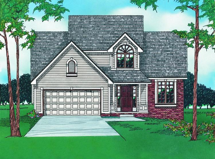 Traditional Plan 1 898 Square Feet 3 Bedrooms 2