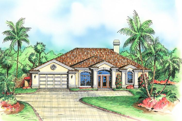 3 Bed, 3 Bath, 2336 Square Foot House Plan - #575-00017
