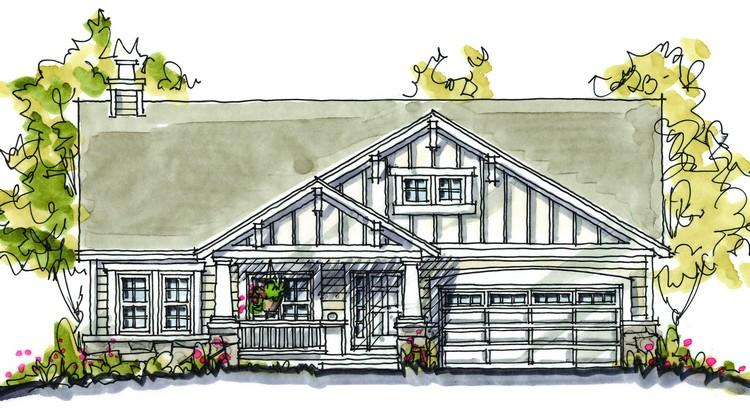 3 Bed, 2 Bath, 1724 Square Foot House Plan - #402-00852