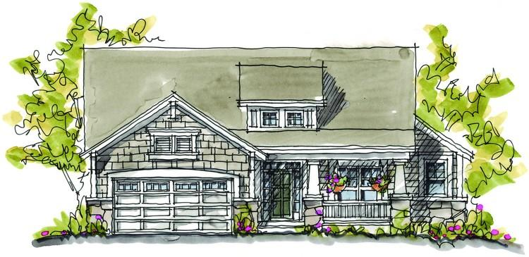 2 Bed, 2 Bath, 1902 Square Foot House Plan - #402-00865