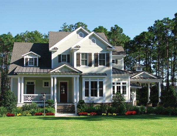Traditional plan 2 879 square feet 3 bedrooms 2 5 for Luxury country house plans