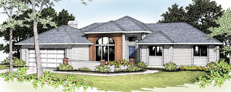 3 Bed, 2 Bath, 1546 Square Foot House Plan - #692-00003