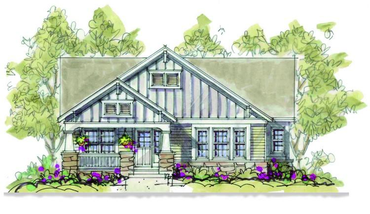 2 Bed, 2 Bath, 1580 Square Foot House Plan - #402-00897