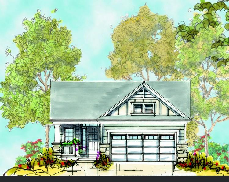 2 Bed, 2 Bath, 1469 Square Foot House Plan - #402-00909