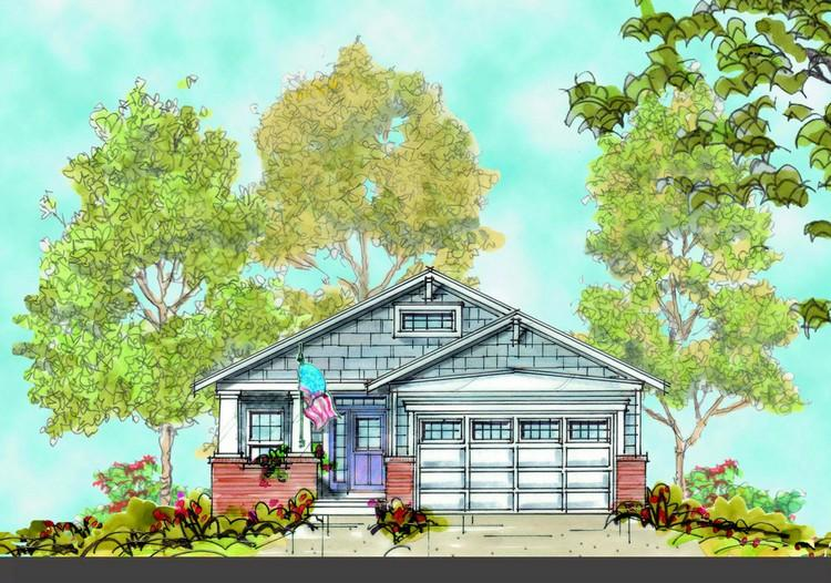 3 Bed, 2 Bath, 1542 Square Foot House Plan - #402-00918