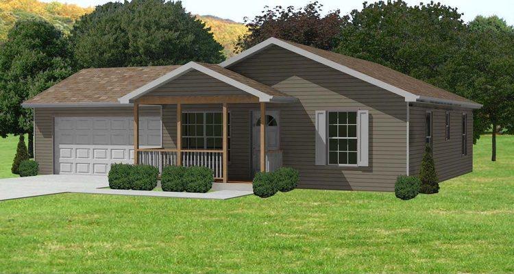 Traditional Plan 884 Square Feet 2 Bedrooms 1 Bathroom