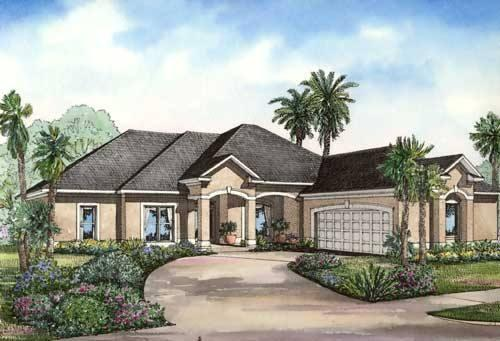 4 Bed, 3 Bath, 2501 Square Foot House Plan - #110-00413