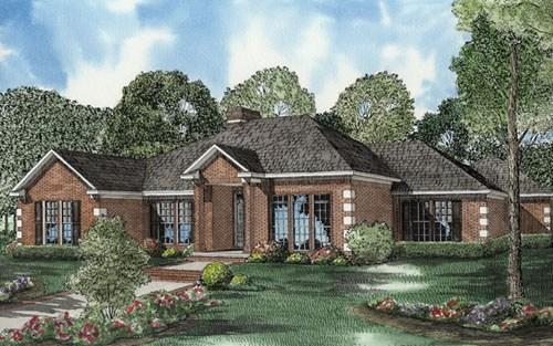 4 Bed, 2 Bath, 2650 Square Foot House Plan - #110-00520