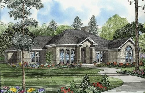 4 Bed, 2 Bath, 2659 Square Foot House Plan - #110-00542