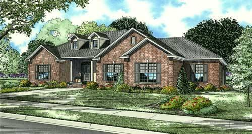 4 Bed, 3 Bath, 2424 Square Foot House Plan - #110-00561
