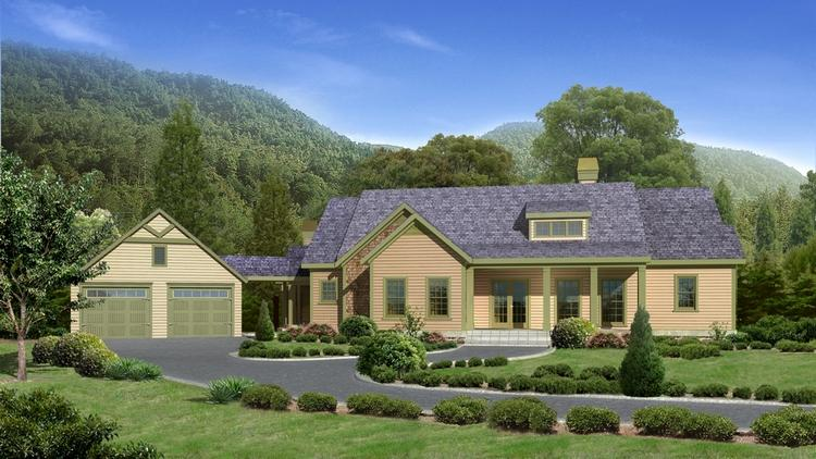 Lake front plan 2 924 square feet 4 bedrooms 4 for Lake house plans with garage