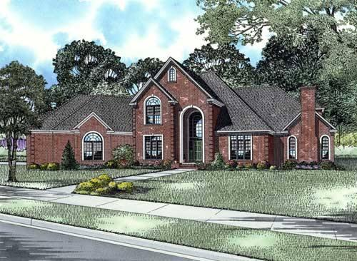 4 Bed, 4 Bath, 4721 Square Foot House Plan - #110-00663
